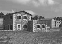Φωτορεαλισμός συγκροτήματος εξοχικών κατοικιών